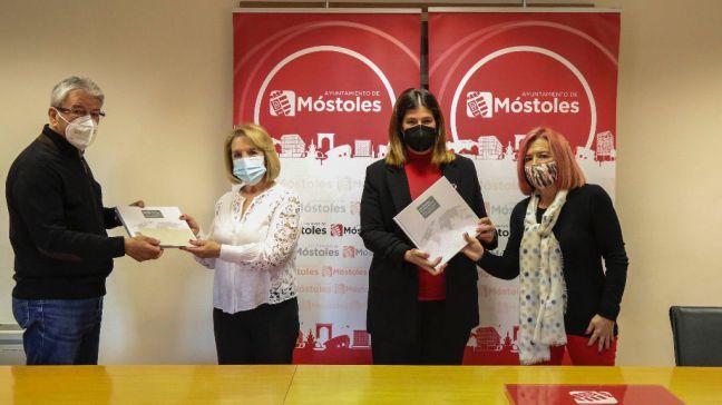 Noelia Posse agradece la labor de la Federación Española de Bancos de Alimentos