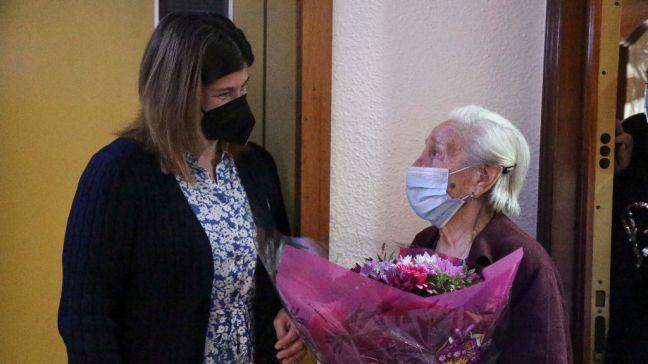 Isabel López Catalá, una de las personas más longevas del municipio