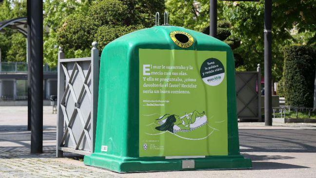 Móstoles y Ecovidrio se unen para fomentar el reciclaje y la lectura