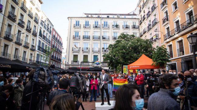 4-M: Ciudadanos como adalid del abandonado movimiento LGTBIQ+