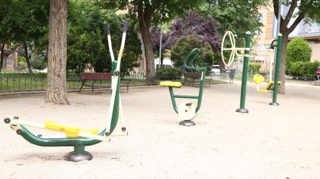 Un nuevo espacio biosaludable situado en el parque Cataluña de Móstoles