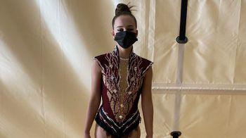 Una mostoleñaen el Campeonato de España de gimnasia rítmica juvenil