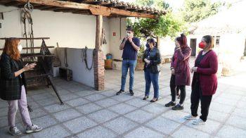 La Alcaldesa rinde homenaje a la memoria histórica de Móstoles, en el Día Internacional de los Museos