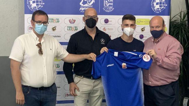 Nuevo fichaje del Ciudad de Móstoles Fútbol Sala: Hugo Diego
