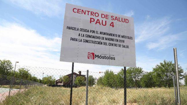 Móstoles exige a Ayuso que cumpla sus promesas electorales y construya el centro de salud del PAU-4