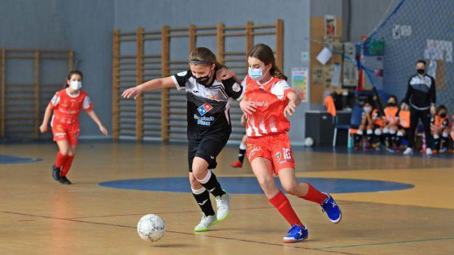 Los equipos del Fútbol Sala Femenino Móstoles ponen punto final a la temporada