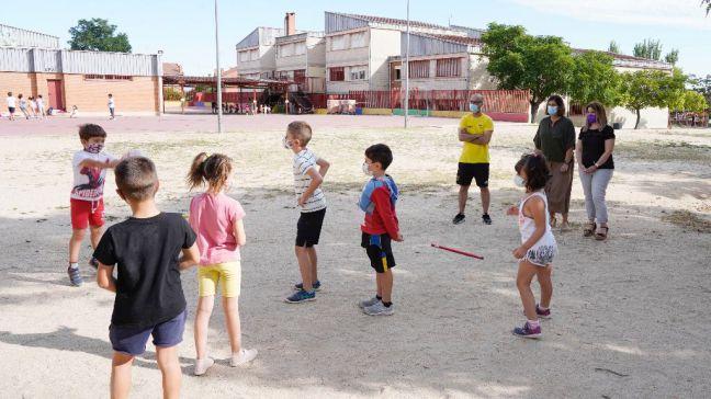 Cerca de 2000 niñas y niños participan en las Colonias Urbanas de verano de Móstoles