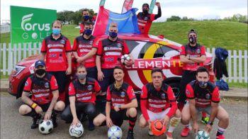 Mostoleños en el Campeonato de España de Footgolf