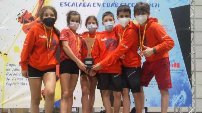 Mostoleños participan en el Campeonato de España en edad escolar 2021