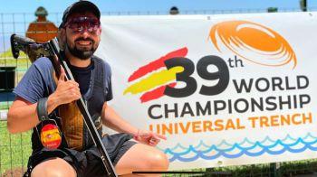 El tirador mostoleño Mario Fuentes López se proclama Campeón del Mundo de Foso Universal