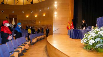 Apertura del curso 2021-2022 en la Universidad Rey Juan Carlos