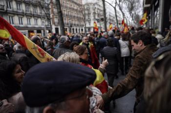 """Casado : """"El 28-A se optará por la Constitución, la ley y la unidad de España o por el caos de comunistas, socialistas e independentistas"""""""