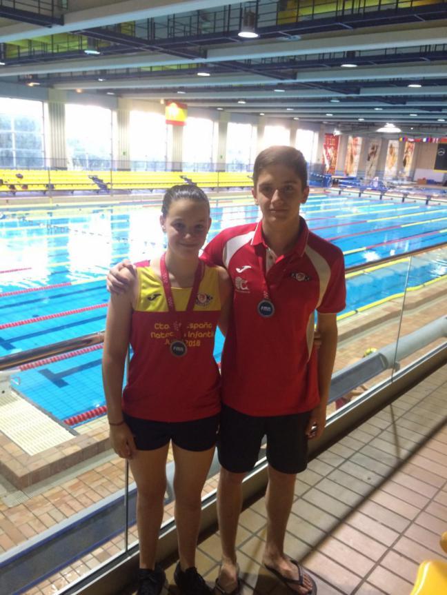 La AD Natación Móstoles consigue varias medallas en el Campeonato de Madrid alevín