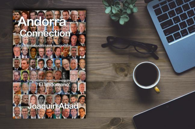 Joaquín Abad desvela la conexión de Andorra con célebres personajes y políticos en su nueva novela