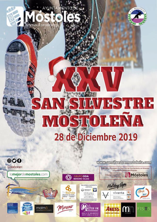 """Se abre el plazo de inscripción para participar en la """"San Silvestre Mostoleña"""" del 28 de diciembre"""