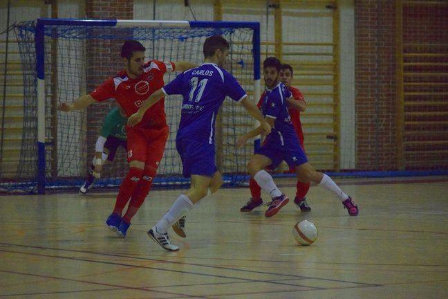 Cómoda víctoria del Ciudad de Móstoles FS frente al EFS Colmenar Viejo (6-0)