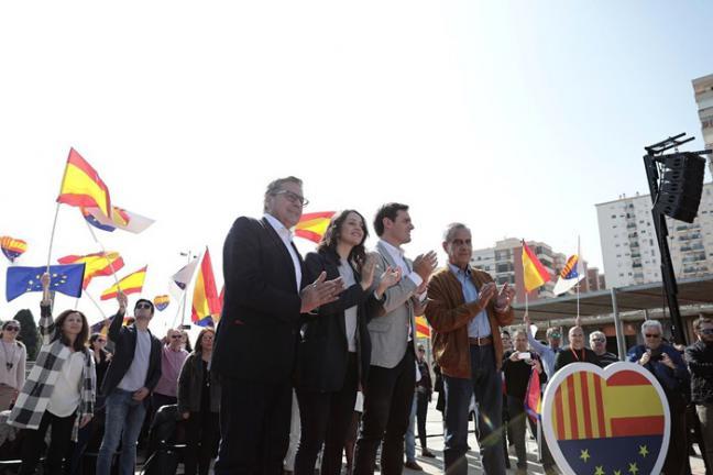 """Arrimadas critica que """"tanto PSOE como PP nos han vendido porque han pactado con los separatistas"""""""