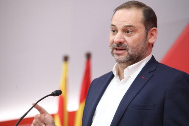 """Ábalos: """"Solo el PSOE es la fuerza capaz de oponerse al trío de la derecha"""""""