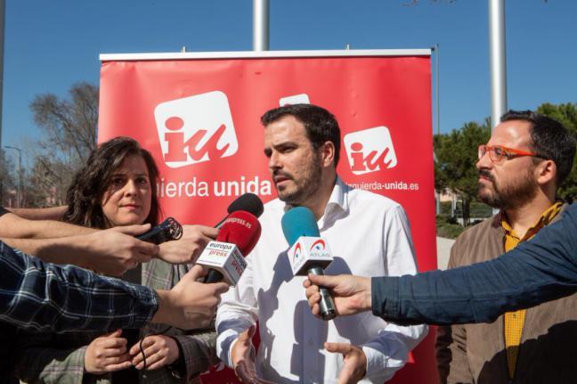 """Garzón reivindica los decretos-ley del Gobierno como fruto """"del trabajo y el esfuerzo"""" de Unidos Podemos e IU"""