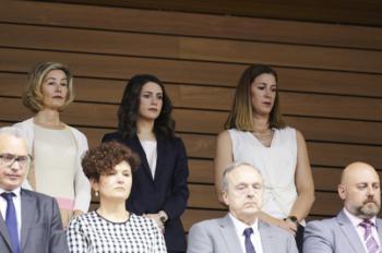 """Arrimadas: """"El PSOE ha regalado Navarra a los amigos de Bildu y al nacionalismo"""""""