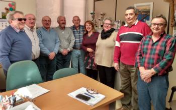 La Concejala de Derechos Sociales y Mayores visita la Asociación Cultural y Deportiva Juan XXIII