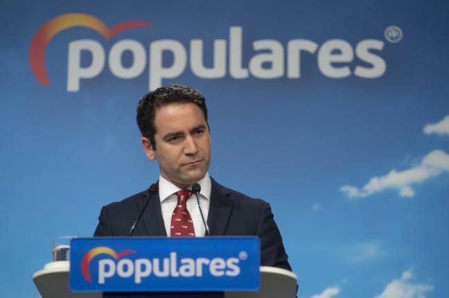 """García Egea: """"El antagonista del PSOE ha sido, es y será el PP"""""""