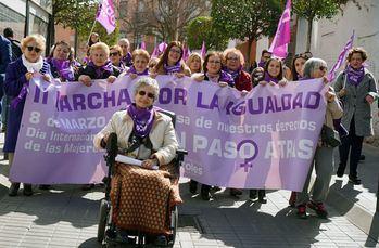 Más de 3.000 personas secundan la II Marcha por la Igualdad en Móstoles en la jornada reivindicativa del Día de las Mujeres