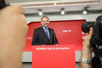 """Ábalos: """"Encaramos una semana decisiva para el futuro político de España"""""""