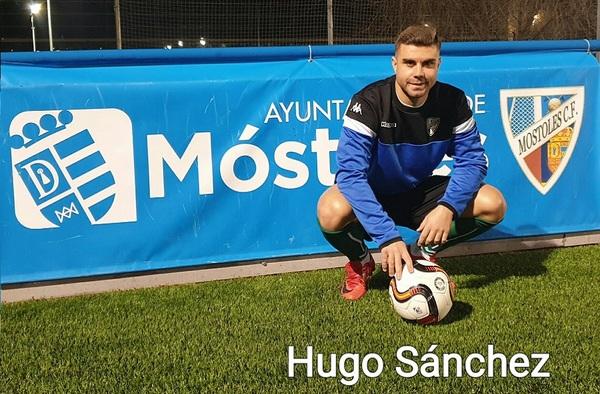 Hugo Sánchez, nuevo delantero para el Móstoles C.F.