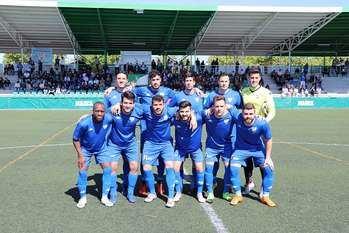 Empate a uno entre el Móstoles CF y el Club Deportivo El Álamo