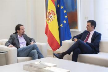 Iglesias verbaliza la falta de entendimiento con el PSOE