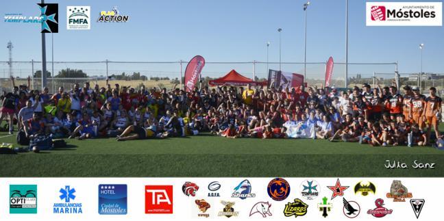 La Iberian Flag Bowl se celebró por tercer año en Móstoles con un gran éxito de participantes y público