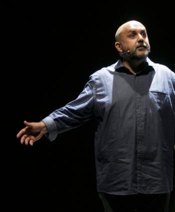 'Tanatorium', un soliloquio lleno de inteligencia y humor, este viernes en el Teatro El Soto