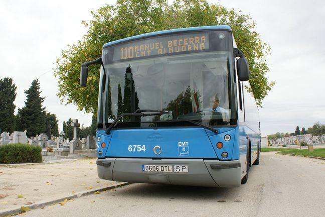 EMT refuerza 8 líneas hacia los cementerios madrileños