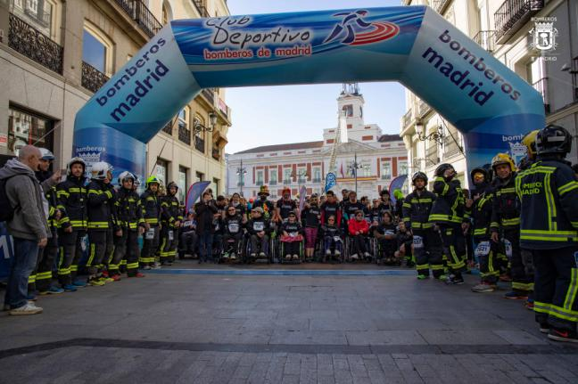 La Carrera de Bomberos de Madrid apostó por