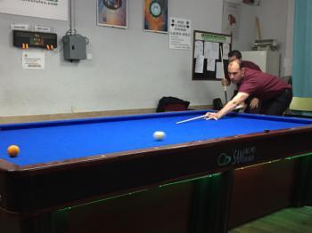 Primer partido del año del Club Billar Móstoles