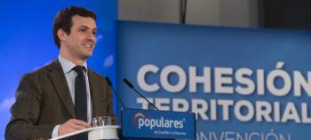 Pablo Casado anuncia un decálogo para la reforma de la Administración