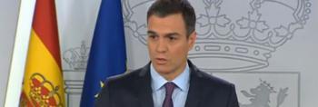 Sánchez reconoce a Guaidó como presidente encargado de Venezuela y pide elecciones libres en el menor tiempo posible