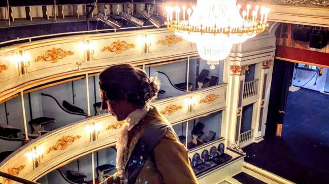 La Comunidad propone visitas teatralizadas al Real Coliseo Carlos III de San Lorenzo de El Escorial