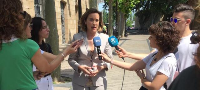 """Gamarra: """"Si el PSOE acepta gobernar Navarra con el apoyo de Bildu y los nacionalistas, estará alejándose del constitucionalismo"""""""